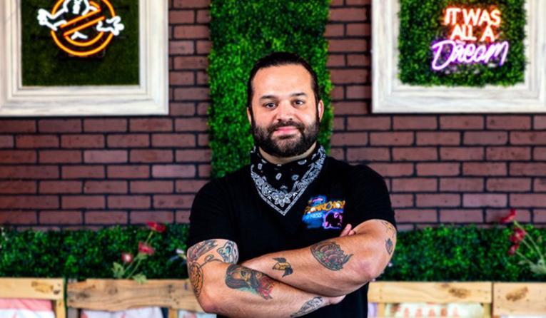 Chef Marc Marrone.