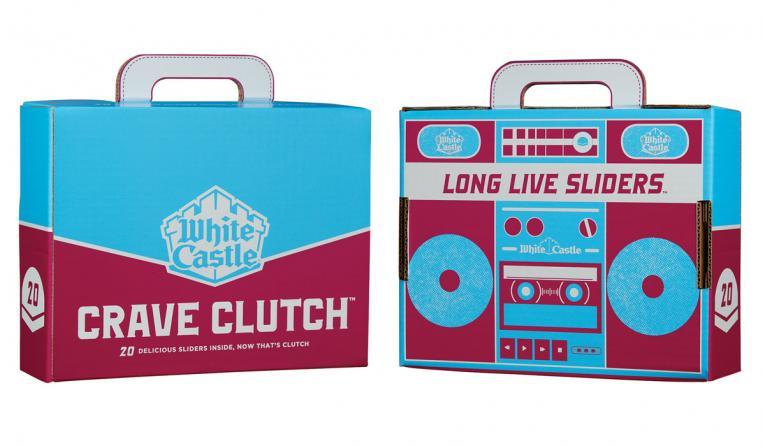 White Castle Crave Clutch packaging.