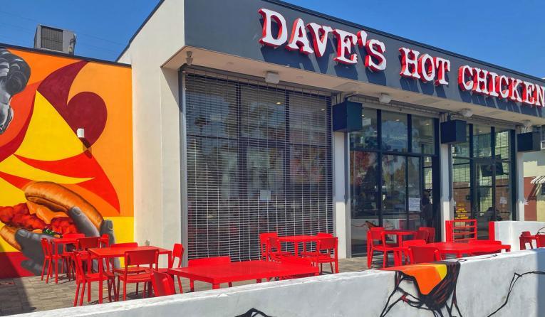 Dave's Hot Chicken exterior.