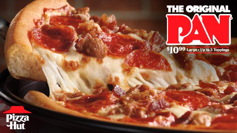Pizza Hut S Original Pan Pizza Is Now 10 99 With Three Toppings Qsr Magazine