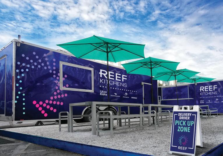 REEF Kitchen pickup location