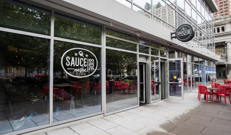 Sauce on the Side exterior.