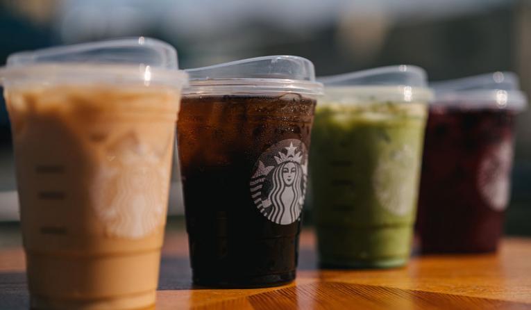 Starbucks strawless lids.