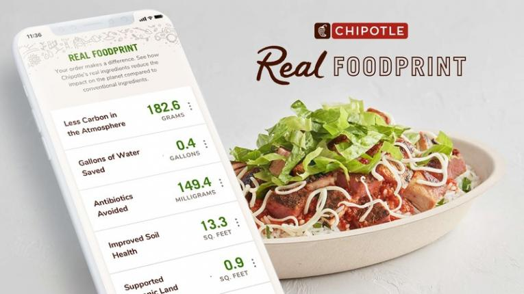 Chipotle's Real Foodprint.