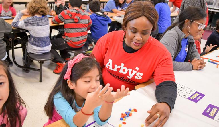 Arby's Make a Difference Campaign.