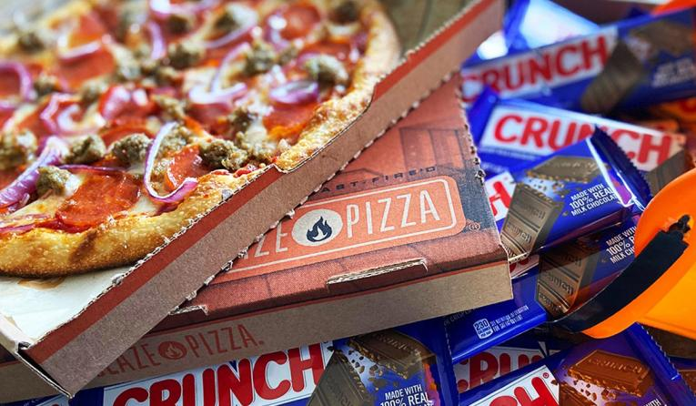 Crunch Bar/Blaze Pizza.