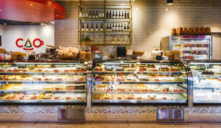 CAO Bakery & Café interior.