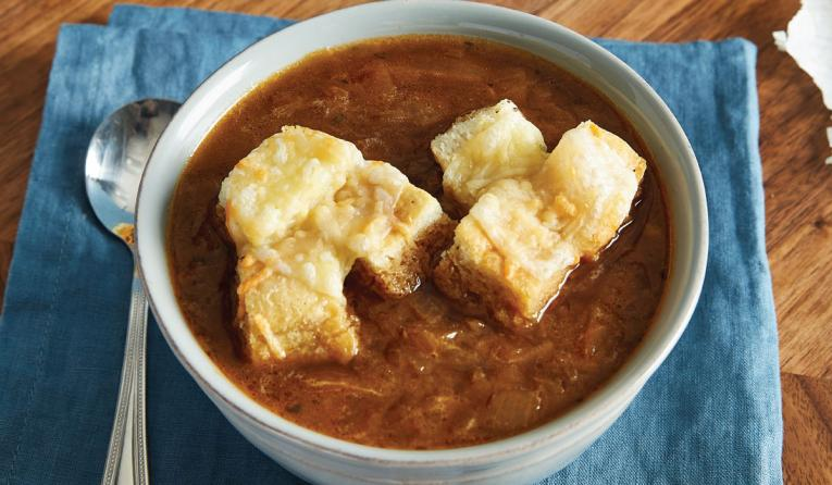 McAlister's Deli French Onion soup.