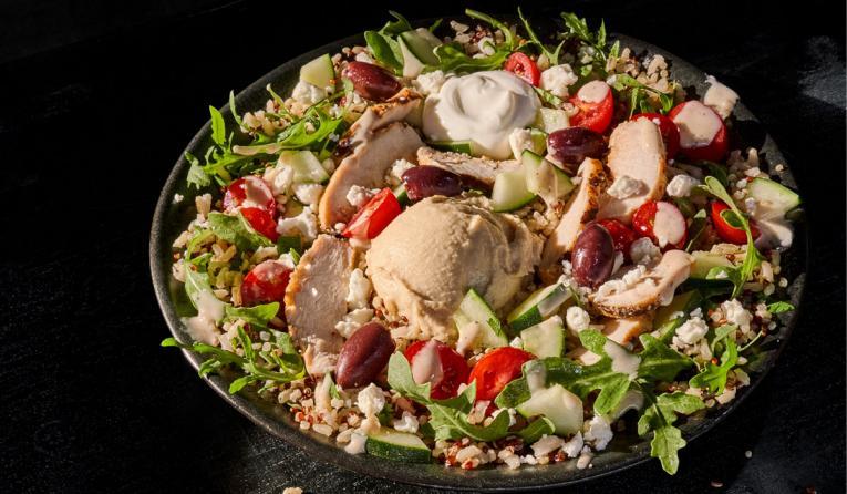 Panera Bread salad.