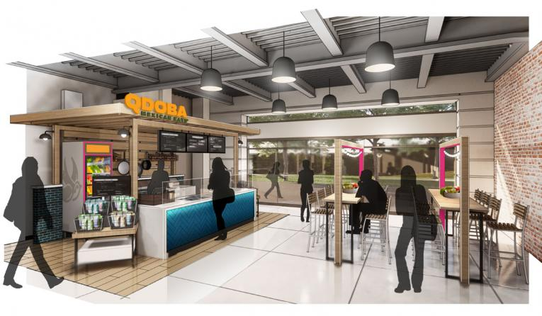 Qdoba ghost kitchen rendering.