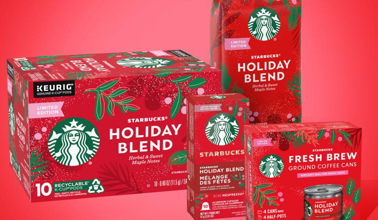 Starbucks holiday blend.