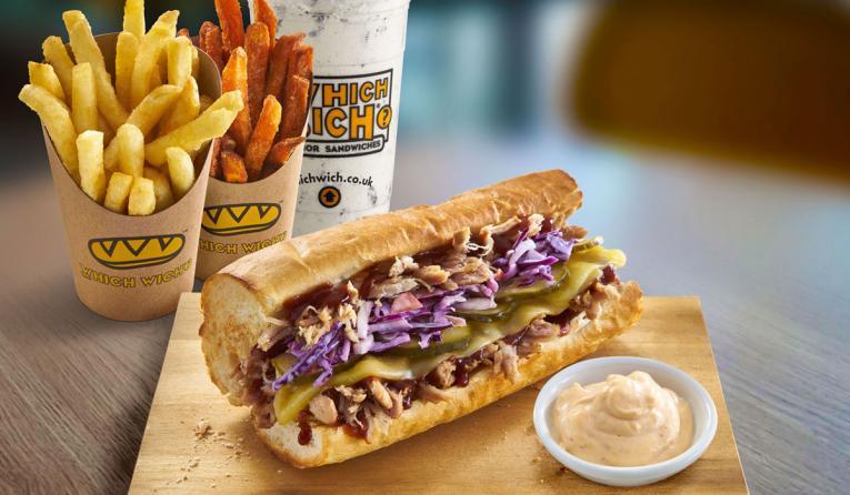 Which Wich sandwich.