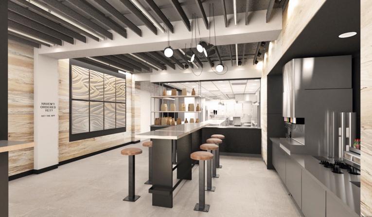 Chipotle digital-only restaurant.