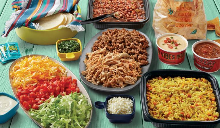 Fuzzy's Taco Shop family meals.