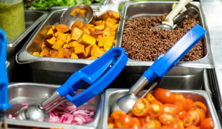 Kitava food on the make line.