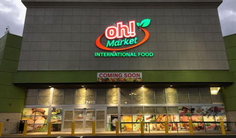 Oh! Market storefront.