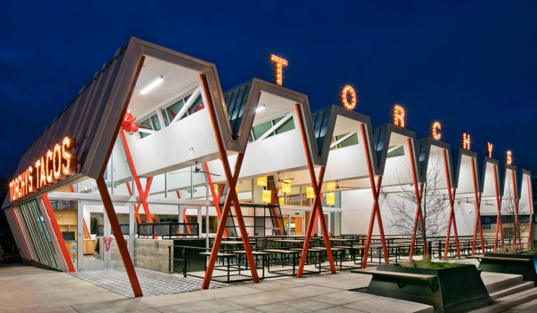 Torchy's Tacos exterior.