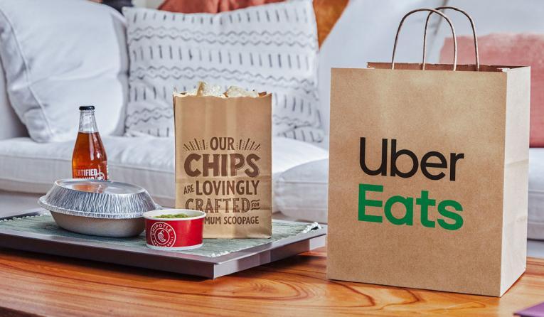 Uber Eats/Chipotle.