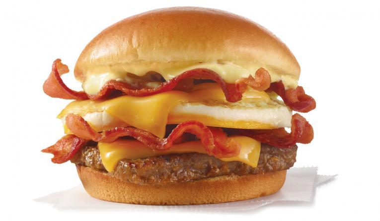 Wendy's Breakfast Baconator.