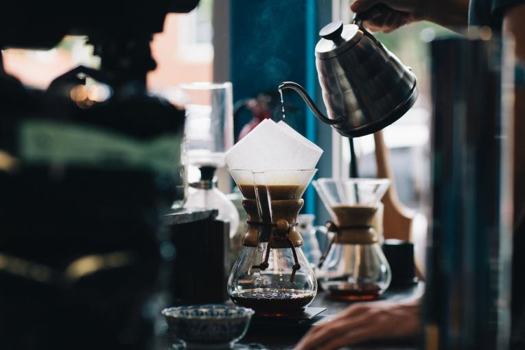 Good coffee at restaurants could help bring back business after covid pandemic.