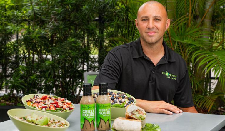 Green Market Cafe owner Andrew Koumi