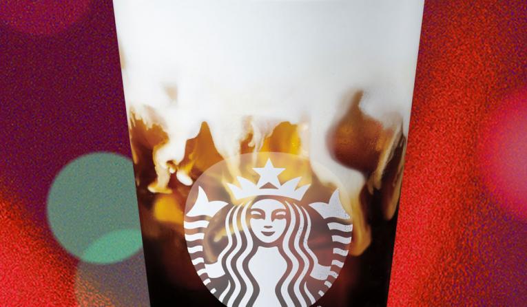 Starbucks Irish Cream Cold Brew.