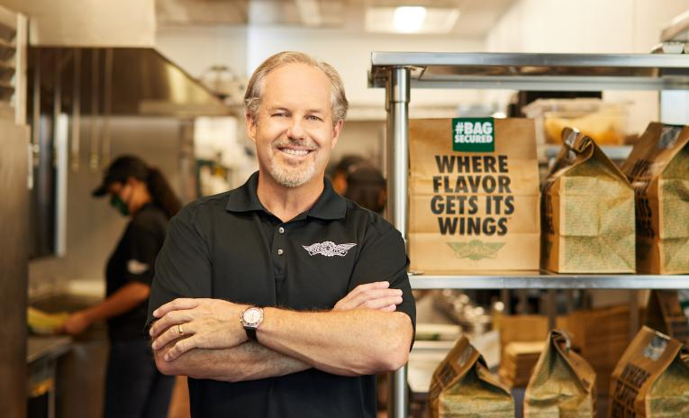 Chief executive of Dallas based wings company talks how to become world powerhouse.