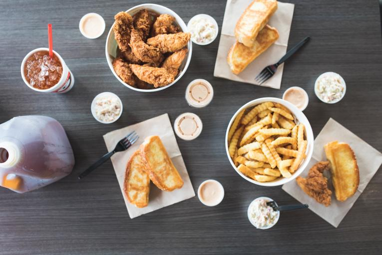 Alabama chicken finger chain franchise with profitable and simple model.