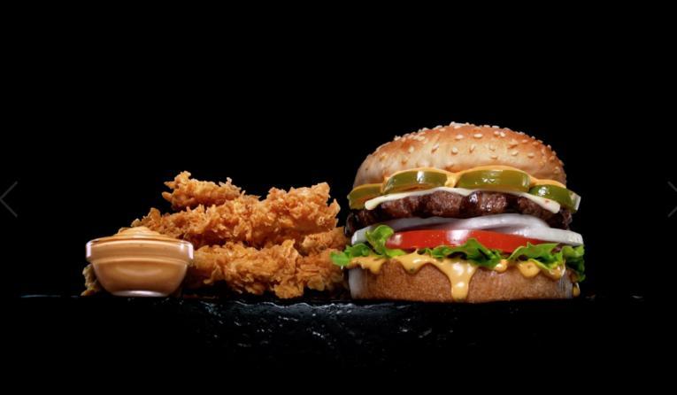 Carl's Jr. & Hardee's burger.