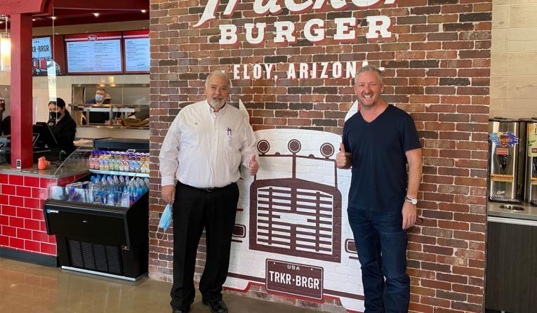 Trucker Burger.