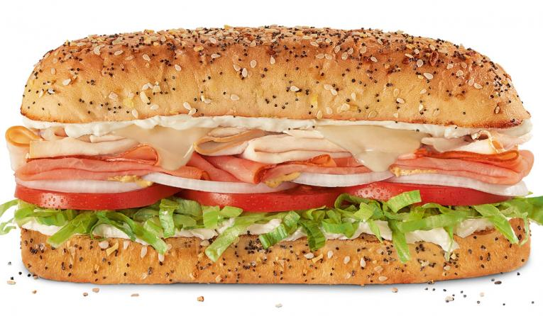 Firehouse Subs Everything Hook & Ladder Sub.