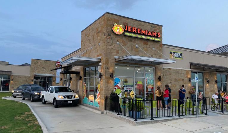 Jeremiah's Italian Ice exterior.