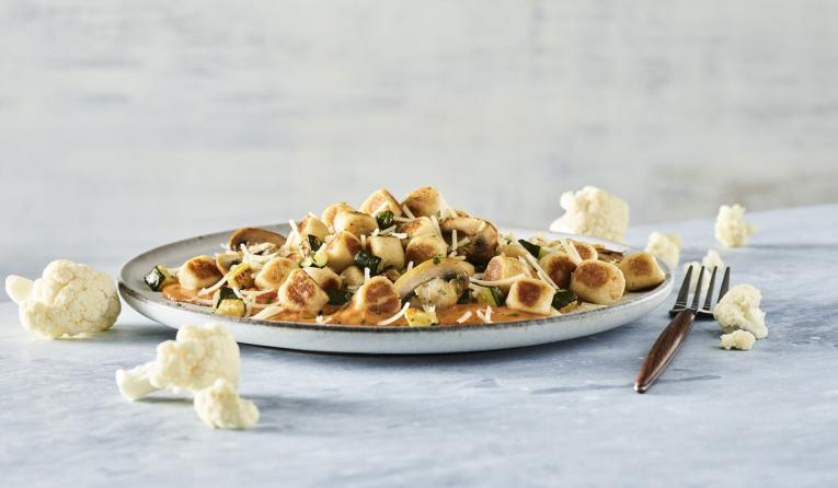 Noodles & Company Cauliflower Gnocchi.
