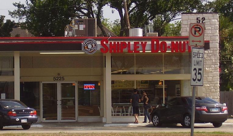 Shipley Do-Nuts exterior.