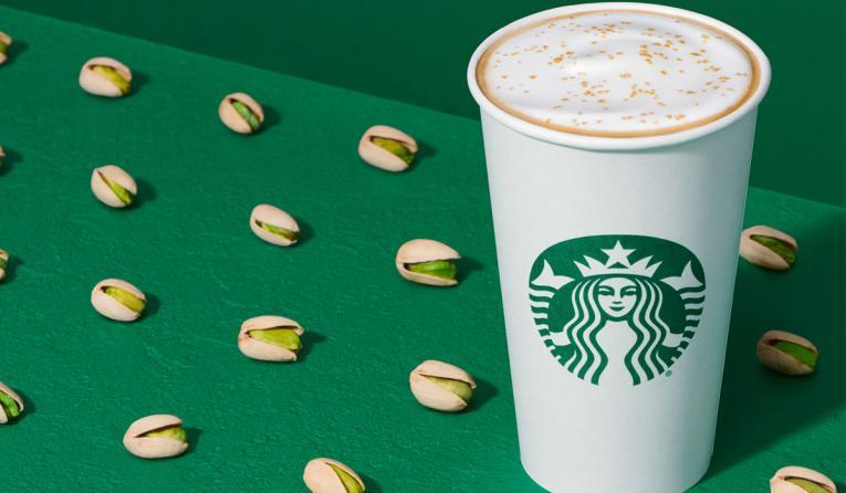 Starbucks Pistachio Latte.