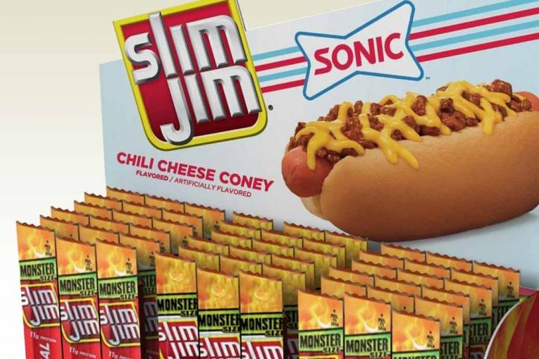 Chili Cheese Coney Flavored Snack