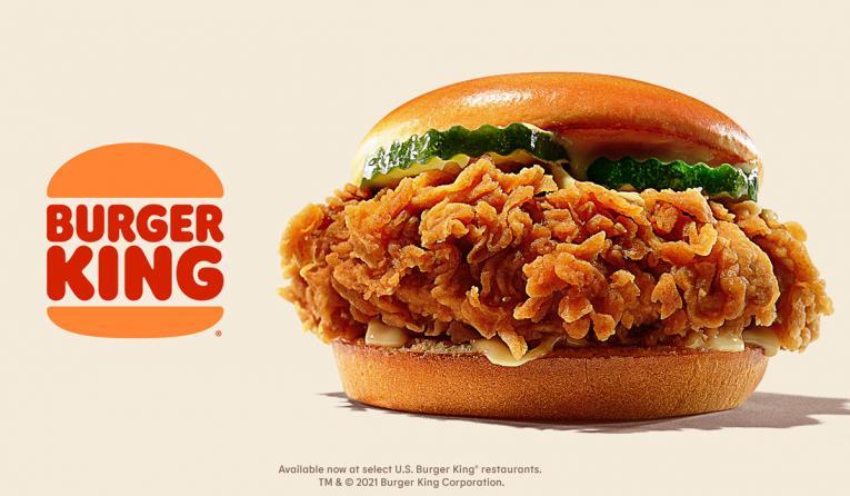 Burger King chicken sandwich.