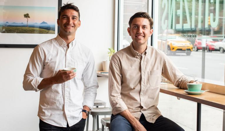 Citizens owners and co-founders, Justin Giuffrida and Andrew Geisel.
