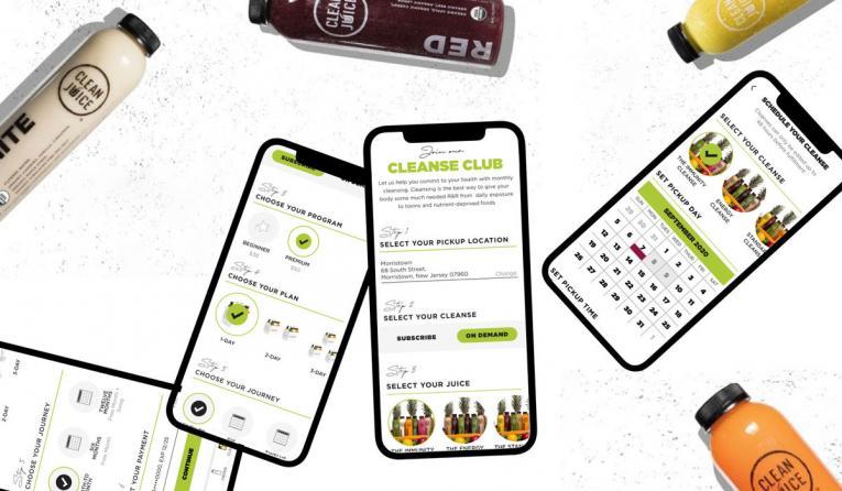 Clean Juice Cleanse Club images.
