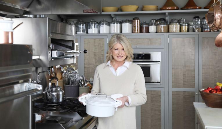 BurgerFi Martha Stewart.