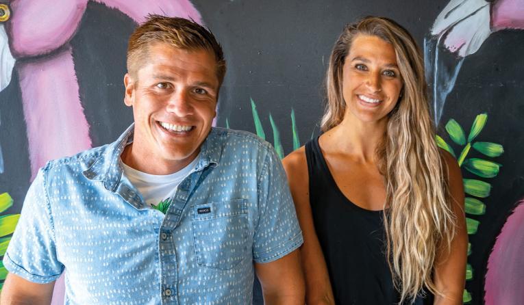 Playa Bowls cofounders Rob Giuliani and Abby Taylor