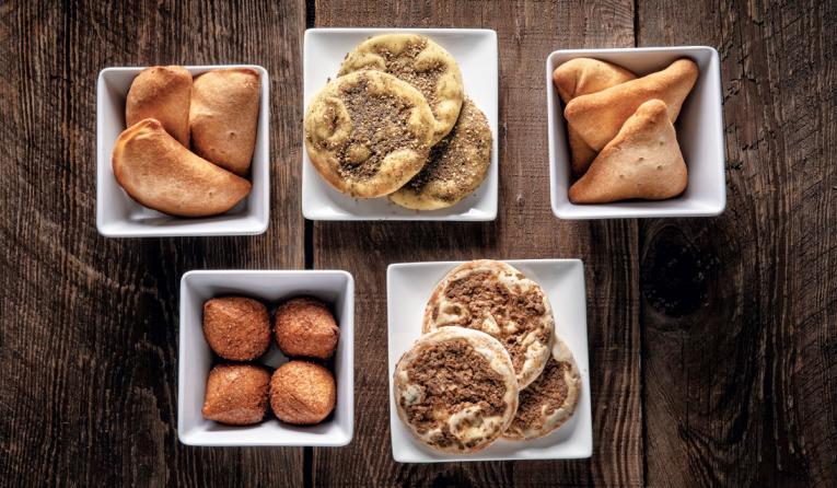 SAJJ's Mediterranean's side items