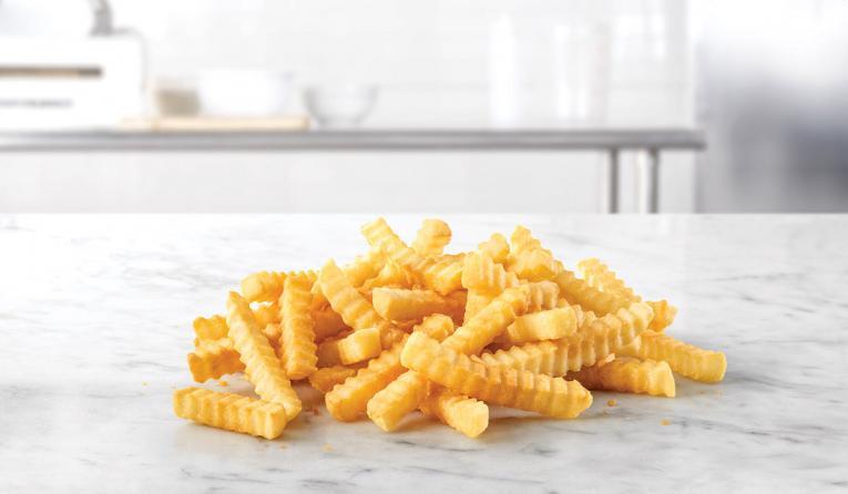 Arby's Crinkle Fries.,
