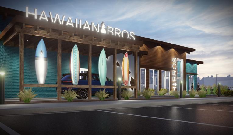Hawaiian Bros rendering.