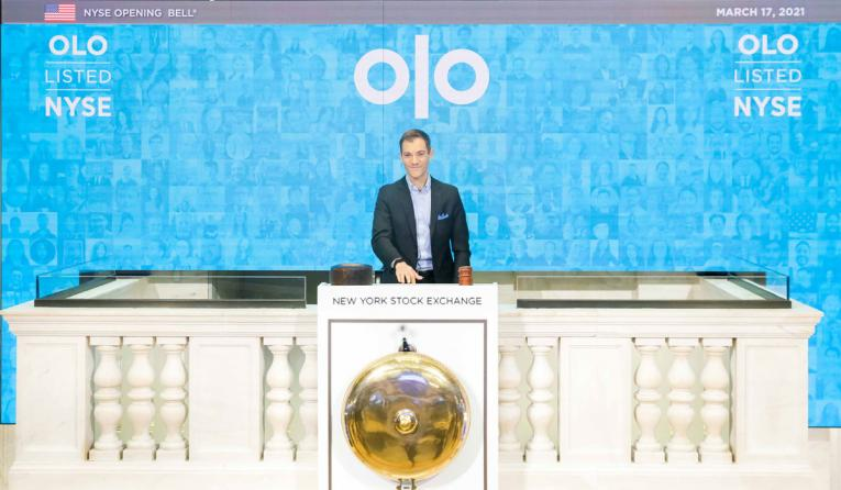 Noah Glass, CEO of Olo.