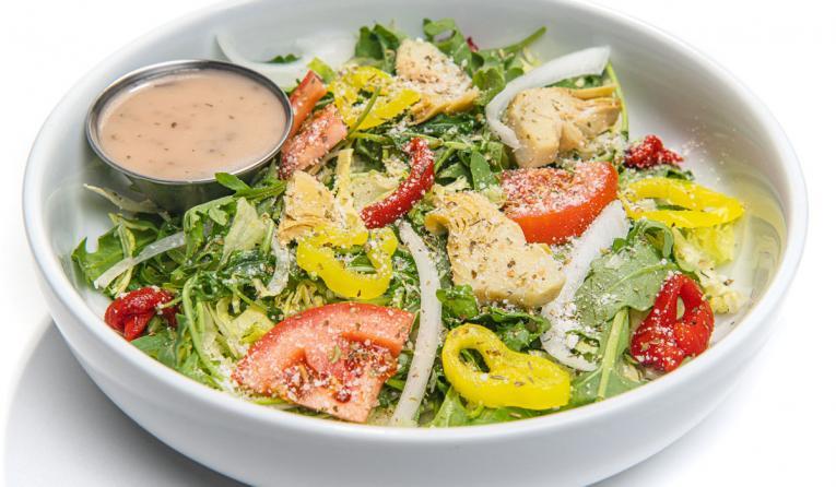 Pauly D's Italian Subs salad.