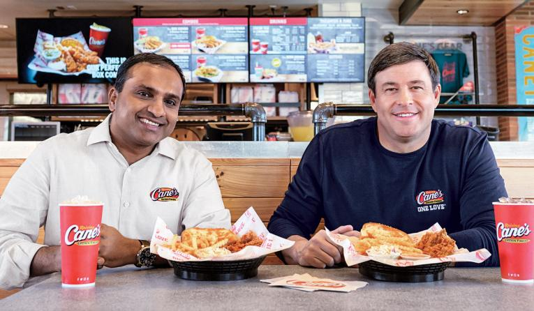 CO-CEO Aj Kumaran (left) and founder Todd Graves