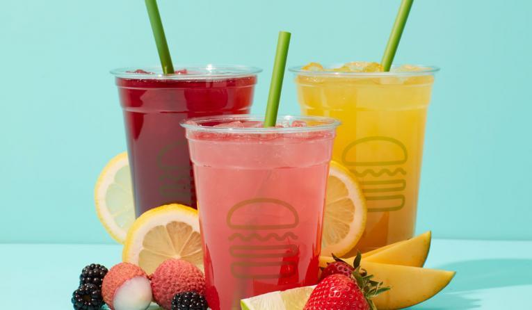 Shake Shack lemonades.