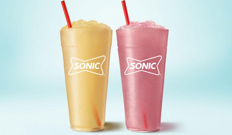 Sonic Drive-In slushes.