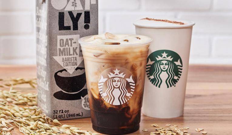 Starbucks oat milk.